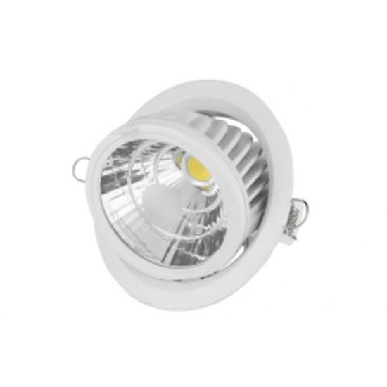 Светодиодный светильник ВАРТОН Downlight поворотный круглый 40° 190*146,6 мм 35W 3000K 1/6