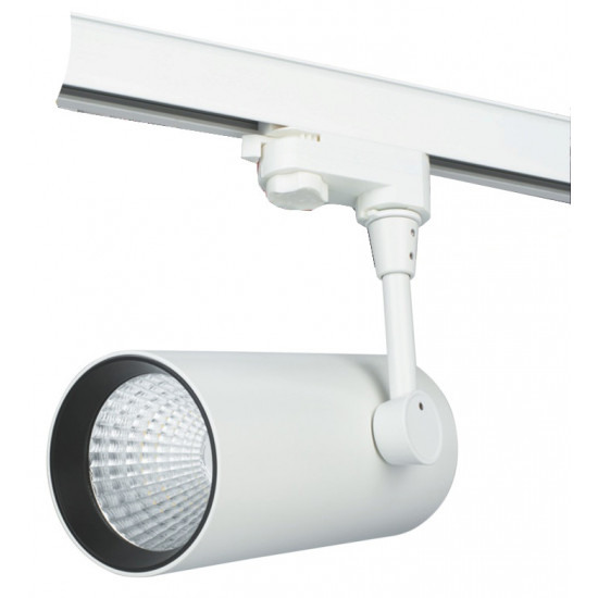 Cветильник LED ВАРТОН трек TT-02 28W 4000K угол 24 ̊  белый