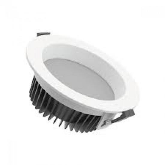 Cветильник светодиодный ВАРТОН Downlight круглый встраиваемый 190*65 16W 3000K IP54