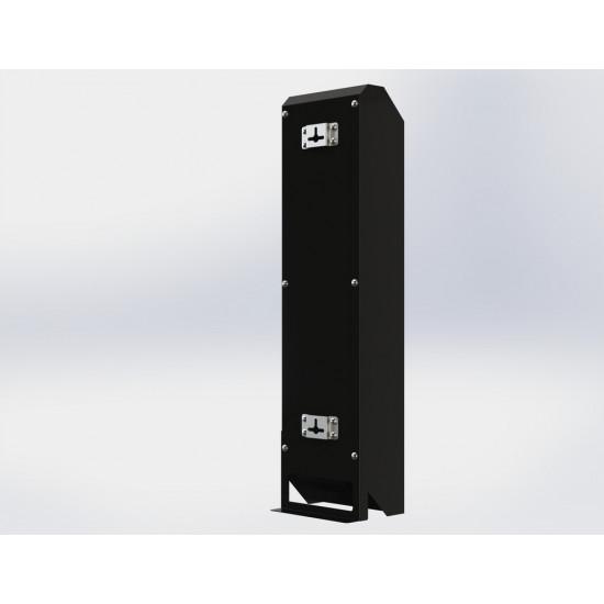 Бактерицидный облучатель - рециркулятор Avp-CHRONOS 2х15 30Вт черный