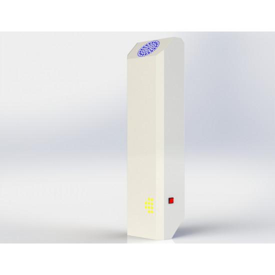 Бактерицидный облучатель - рециркулятор Avp-CHRONOS 2х15 30Вт на передвижной стойке белый
